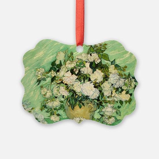 van gogh roses Ornament
