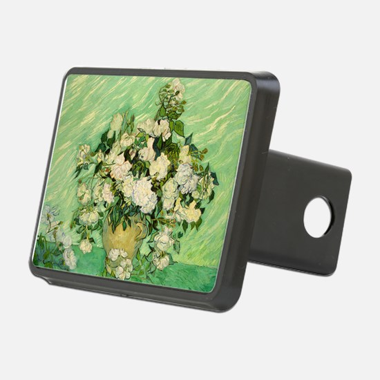 van gogh roses Hitch Cover