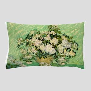 van gogh roses Pillow Case
