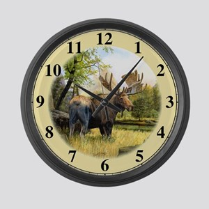 Moose Large Wall Clock