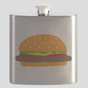 Cute Burger Flask