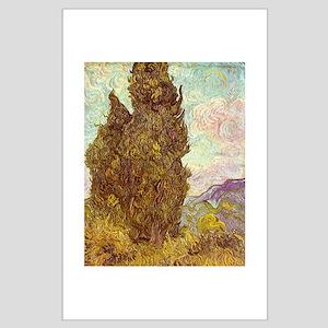 van gogh tree Posters