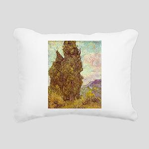 van gogh tree Rectangular Canvas Pillow