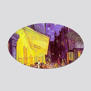 van gogh cafe terrace at night Wall Decal