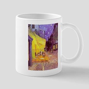 van gogh cafe terrace at night Mugs