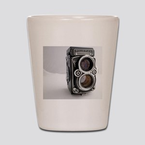 Vintage Camera Shot Glass
