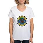 USS CADMUS Women's V-Neck T-Shirt