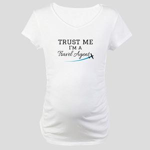 Travel Agent Maternity T-Shirt