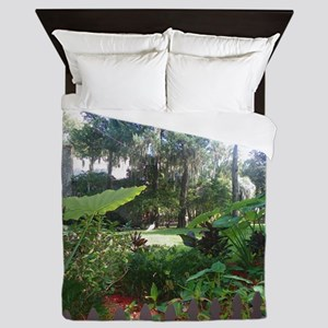 Fountain of Youth View Queen Duvet