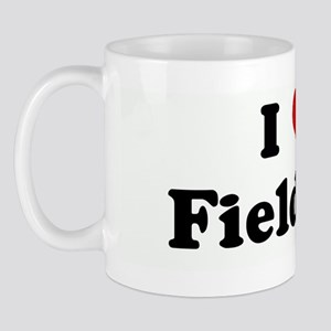 I Love    Field Day  Mug