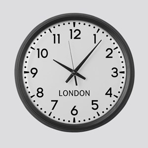 London Newsroom Large Wall Clock