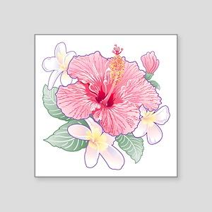Hibiscus Band Sticker