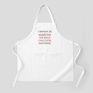 I WANNA BE MARTHA BBQ Apron