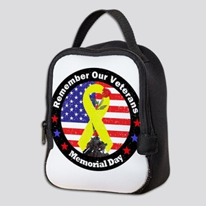 Memorial Day Neoprene Lunch Bag