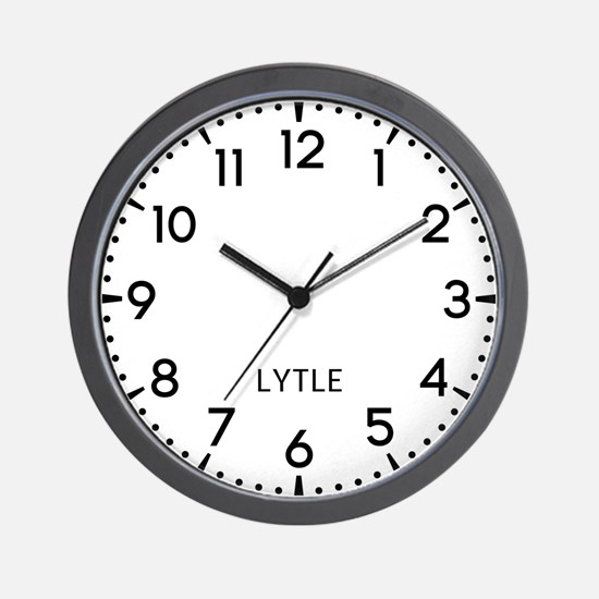 Lytle Newsroom Wall Clock