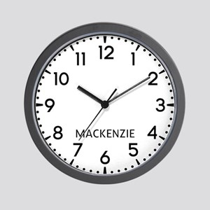 Mackenzie Newsroom Wall Clock