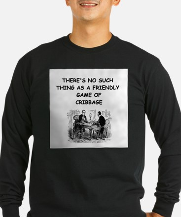 CRIBBAGE11 Long Sleeve T-Shirt