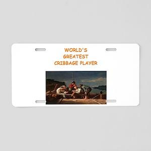 CRIBBAGE10 Aluminum License Plate