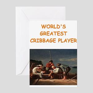 CRIBBAGE10 Greeting Cards