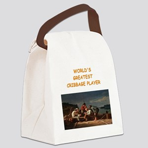 CRIBBAGE10 Canvas Lunch Bag