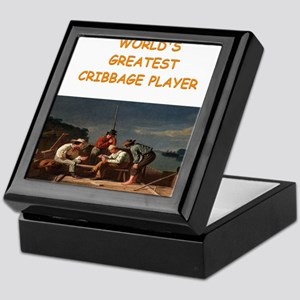 CRIBBAGE10 Keepsake Box