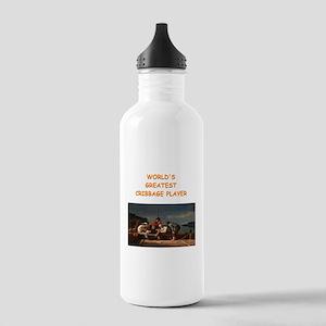 CRIBBAGE10 Water Bottle