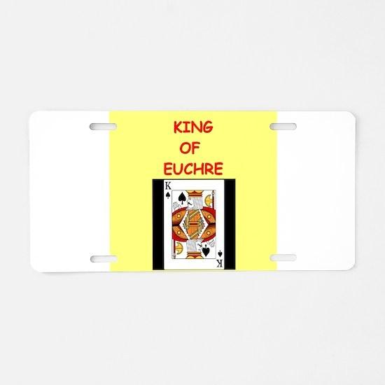EUCHRE13 Aluminum License Plate
