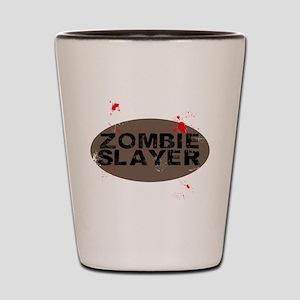 Zombie Slayer Shot Glass