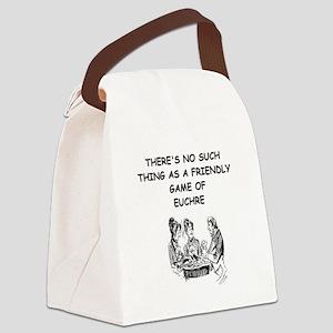 EUCHRE9 Canvas Lunch Bag