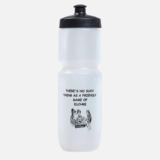 EUCHRE9 Sports Bottle