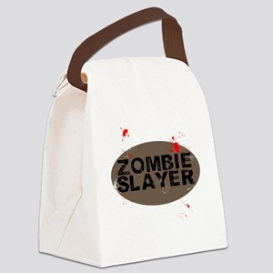 Zombie Slayers Canvas Lunch Bag