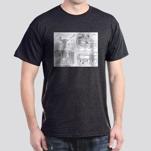 New Mexico Quatrad Dark T-Shirt