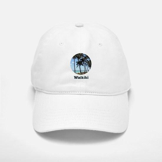 Waikiki Beach Baseball Baseball Baseball Cap