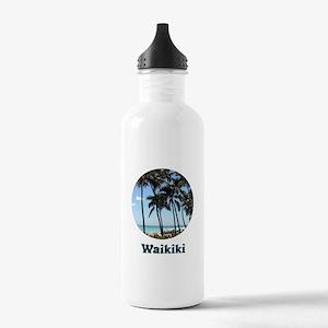 Waikiki Beach Water Bottle