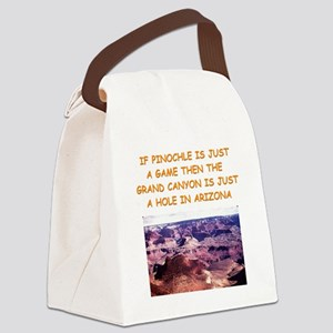 PINOCHLE8 Canvas Lunch Bag