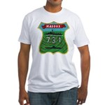 USS MADDOX Fitted T-Shirt