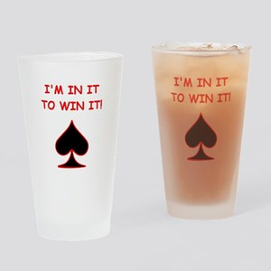 CARDS1 Drinking Glass