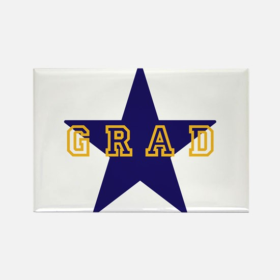 Grad Graduating Graduate Star Magnets