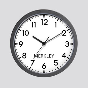 Merkley Newsroom Wall Clock