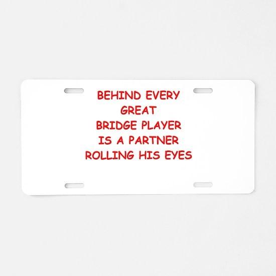 BRIDGE3 Aluminum License Plate