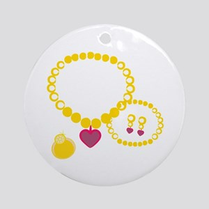 Princess Jewelry Ornament (Round)