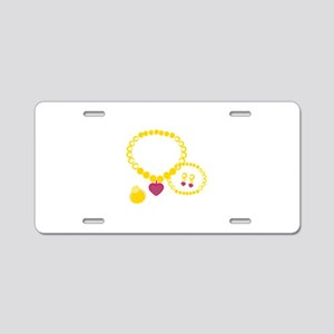 Princess Jewelry Aluminum License Plate