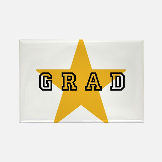 Grad Graduating Gradua Rectangle Magnet (100 pack)