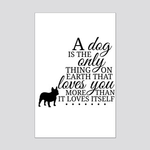 A Dog's Love Poster Print