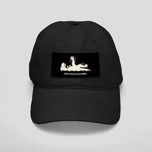 T-Rex Backstroke Black Cap