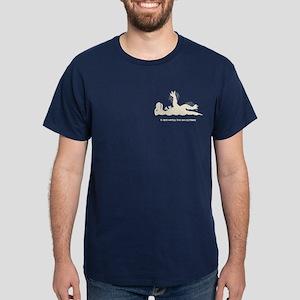 T-Rex Backstroke Dark T-Shirt