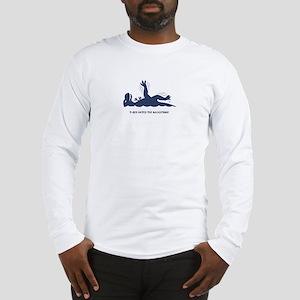 T-Rex Backstroke Long Sleeve T-Shirt