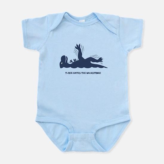 T-Rex Backstroke Infant Bodysuit