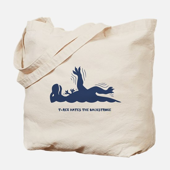 T-Rex Backstroke Tote Bag