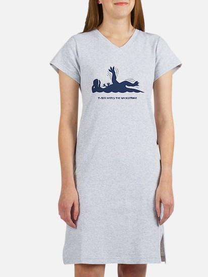 T-Rex Backstroke Women's Nightshirt